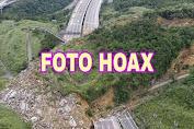 Foto Longsor di Tol Semarang-Solo Adalah Hoax