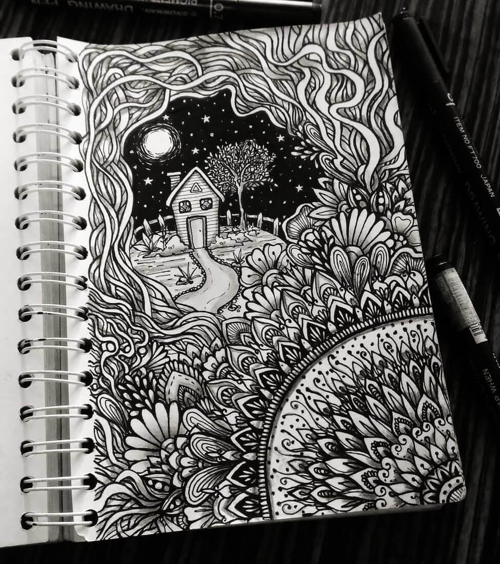 03-Widya-Rahayu-Intricate-Doodles-and-Zentangle-Drawings-www-designstack-co