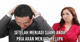 Setelah Menjadi Suami Anda Pria akan Menjadi pelupa