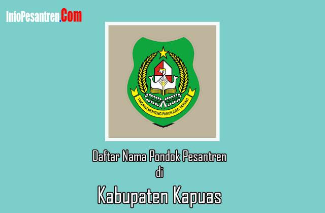 Pondok Pesantren di Kabupaten Kapuas