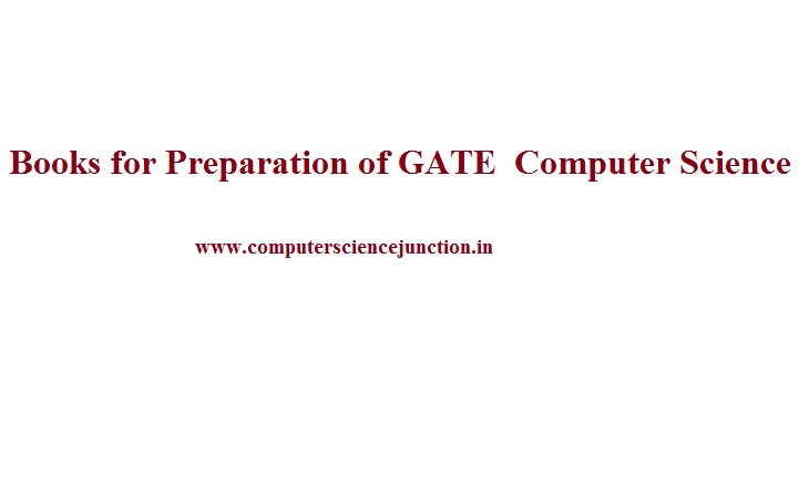 Study Material for gate Computer Science