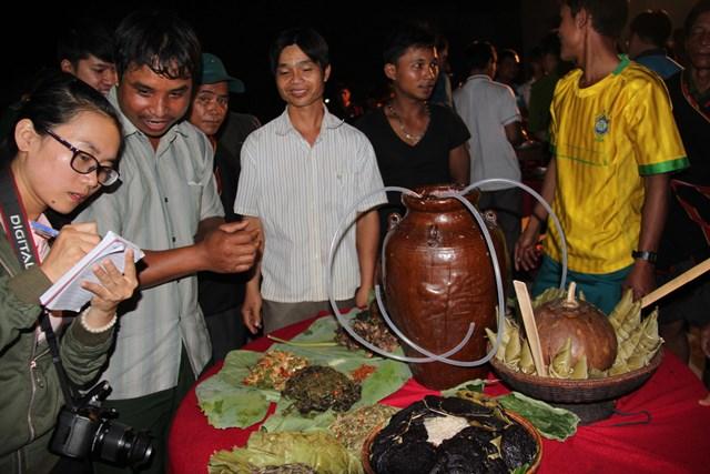 Những món ngon truyền thống của bà con làng Đăk Răng