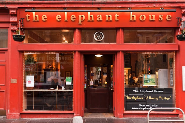 The Elephant House, Edinburgh Harry Potter Places to visit