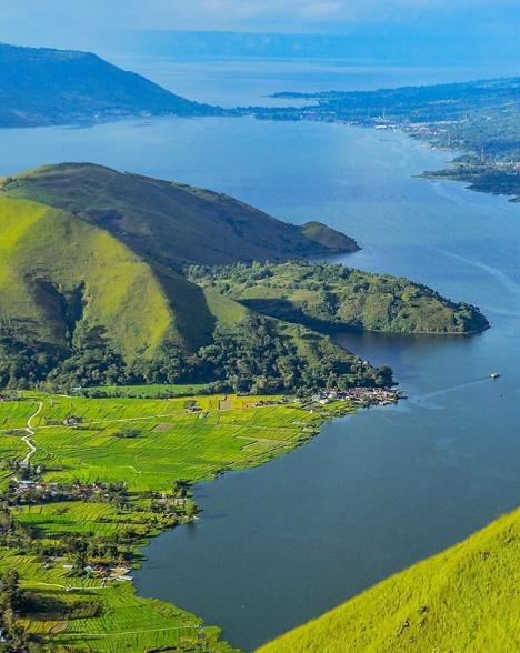 Pesona Bukit Simargulang Ombun | Wonderful Danau Toba
