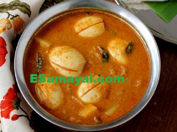 பாசிப்பருப்பு பொரித்த முட்டை குழம்பு செய்முறை / Ingredients of Fried Egg Curry Recipe !