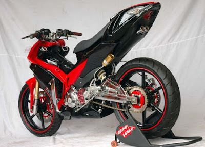 Top modifikasi motor mx king 150cc