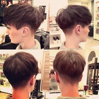 Gaya rambut pria korea two block haircut