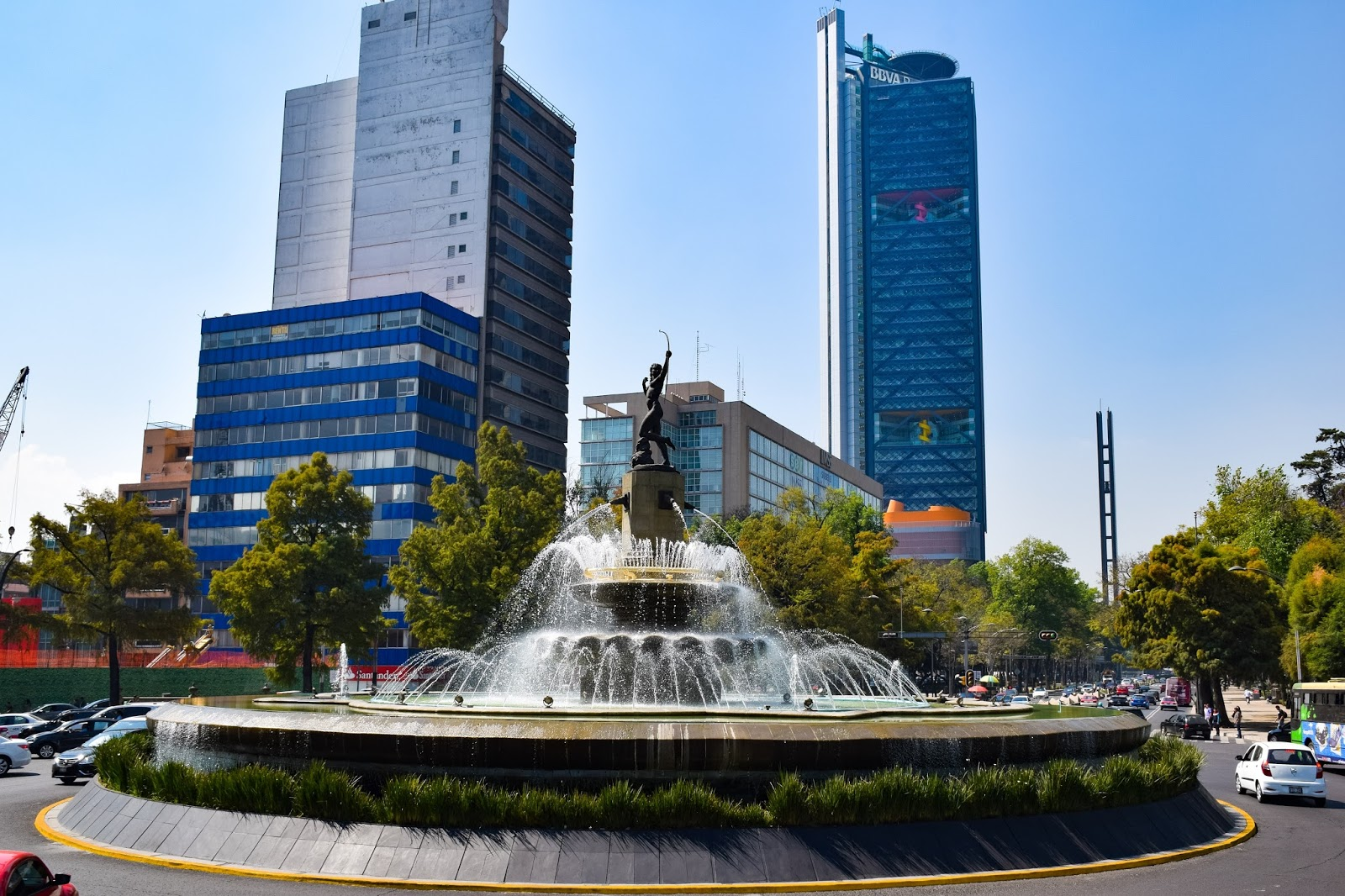 water fountain in mexico city