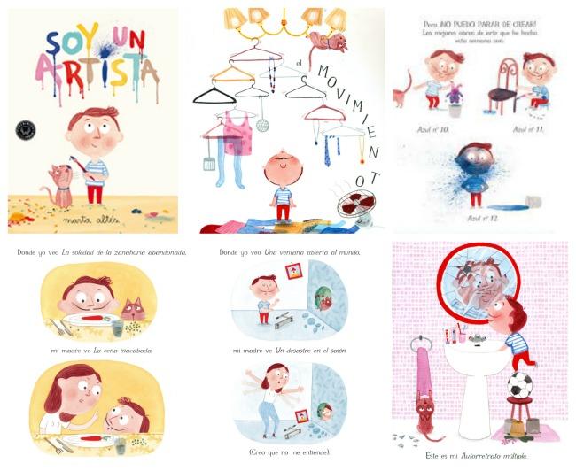 libro infantil Soy un artista Altes