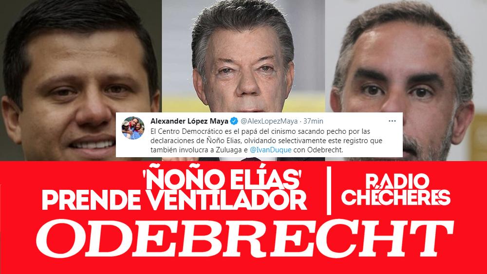 """'Ñoño Elías' prende ventilador en juicio Odebrecht """"Todo lo que dice es verdad"""": Benedetti"""