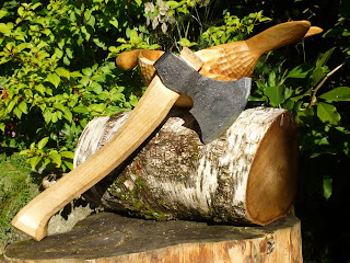 Spoon carving axe MacNic axe