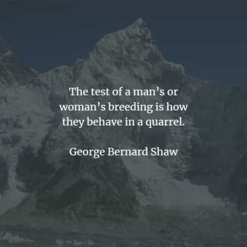 Famous quotes and sayings by George Bernard Shaw