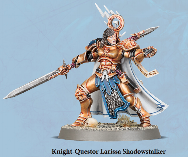 Knight Questor Larissa Shadowstalker