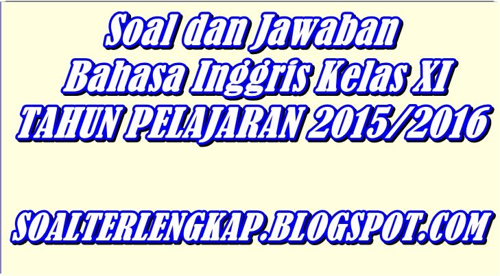 Contoh Soal Essay Report Text