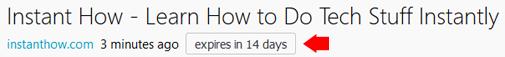 Firefox screenshot expires