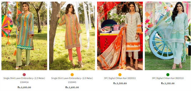 Warad's new lawn collection