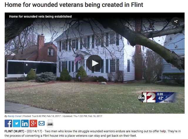 Sears Lexington in Flint, Michigan being re-habbed as center for wounded vets