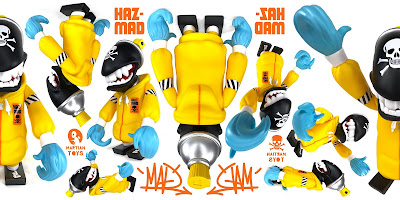 Mad Spraycan Mutant HazMAD Edition Vinyl Figure by MAD x Martian Toys