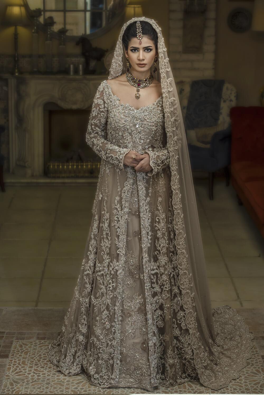 Walima Wedding Dress by Nilofer Shahid