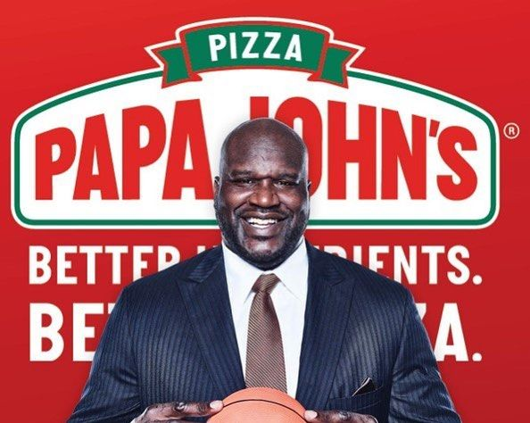 Shaq Makes Deal With Papa John's in Epic Collaboration