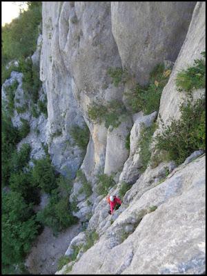 Les Dalles, sector Malines, Verdon