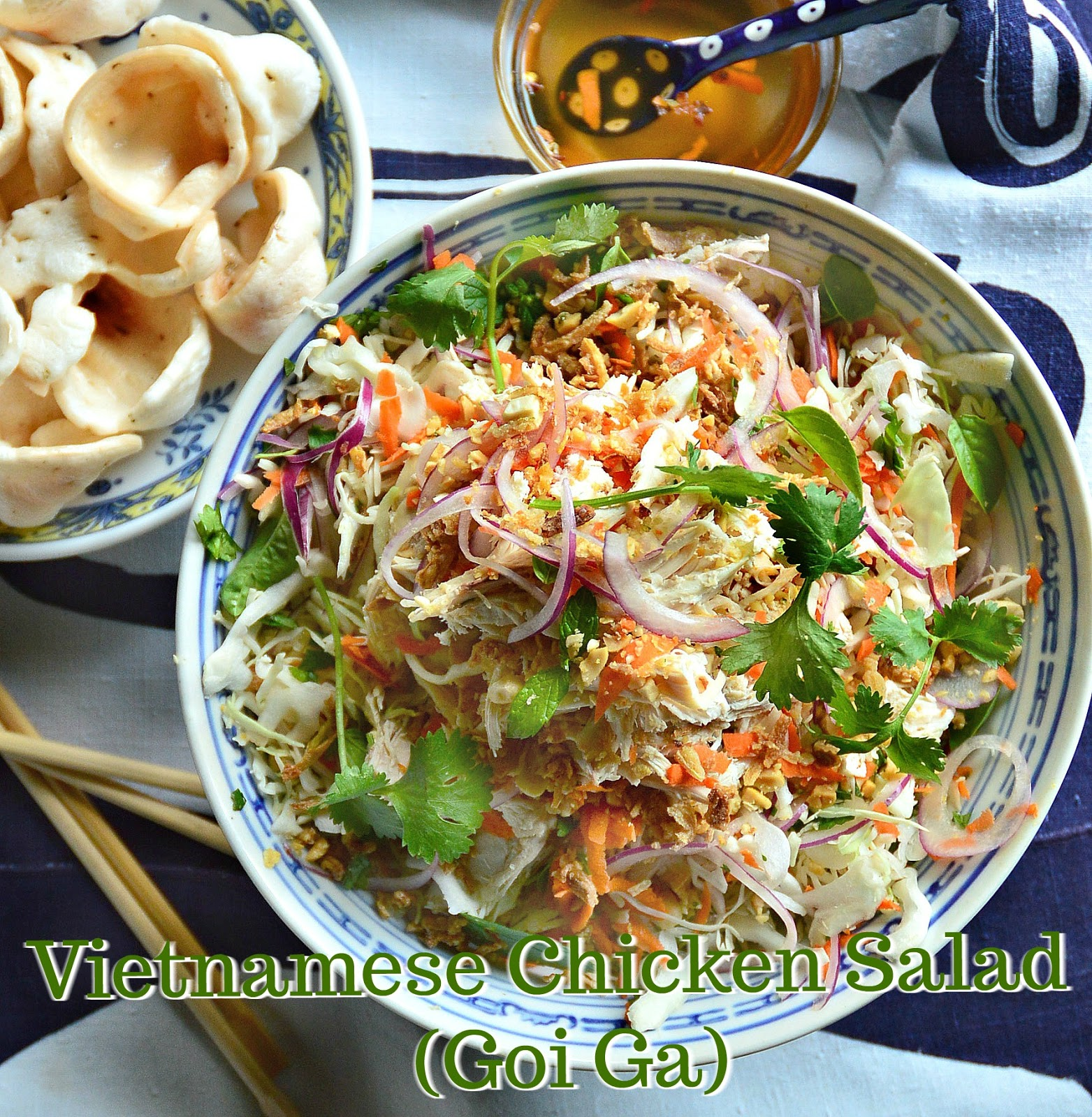 Vietnamese Chicken Salad Goi Ga This Is How I Cook
