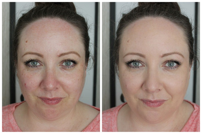 Catrice HD Liquid Coverage Foundation Before and After