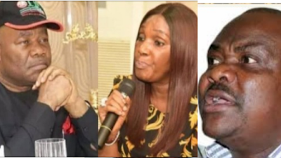 Nothing Must Happen To Joi Nunieh – Gov. Wike Warns Akpabio