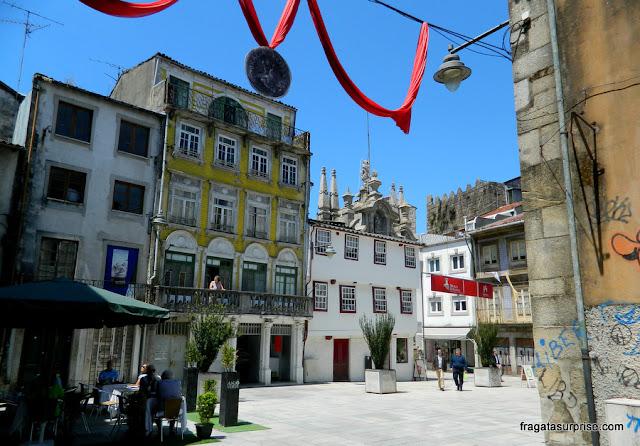 Ruas do Centro Histórico de Braga, Portugal