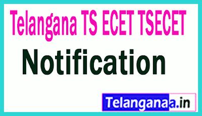 TSECET 2019  Notification