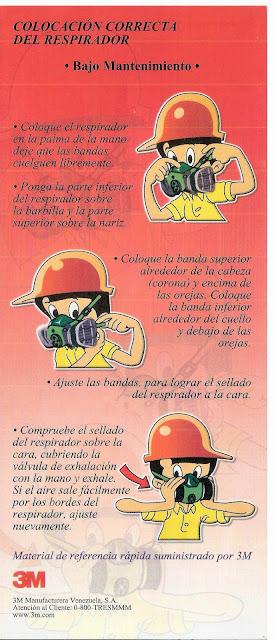 Guía de 3M protección respiratoria