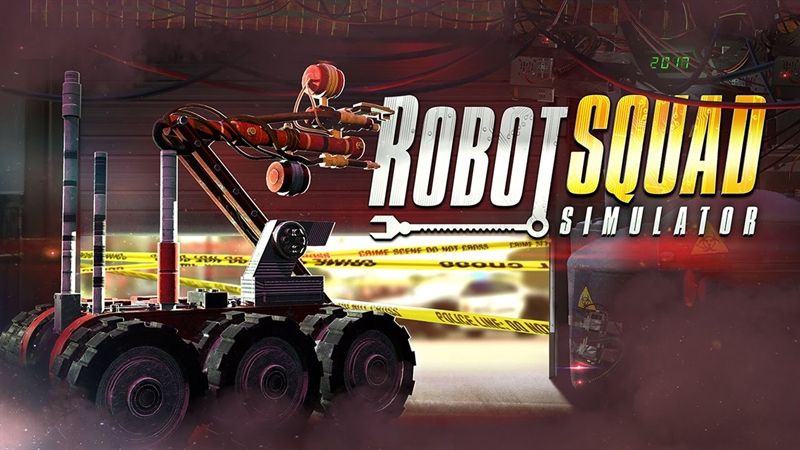 Robot Squad Simulator 2017 Free Download Poster