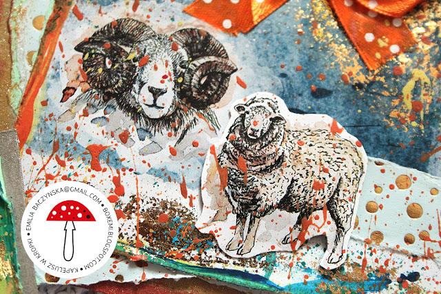 Wielkanocne kartkowanie cz.1 – z owieczką