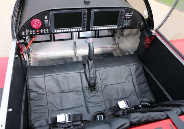 Sonex Waiex-B cockpit