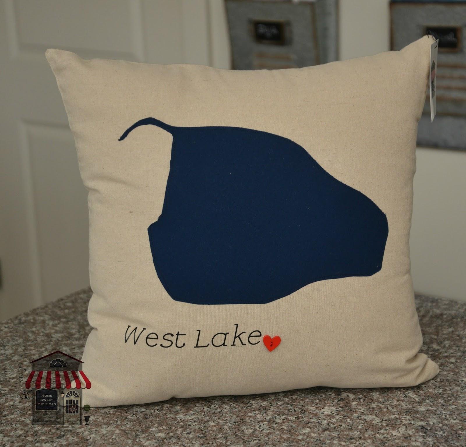 Home Pillows  Accent Pillows  State Pillows  Michigan