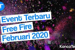 Event Free Fire Februari 2020, Gratis Skin Senjata Permanen, Emote dll