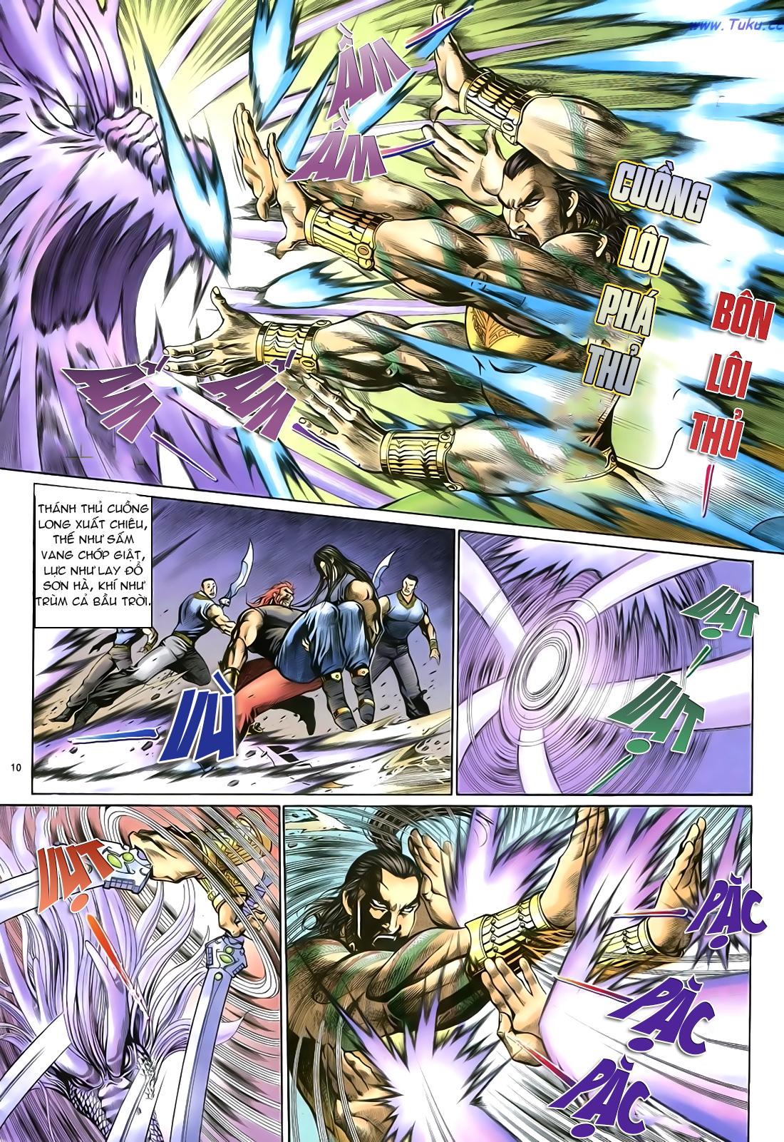 Anh hùng vô lệ Chap 23 trang 11