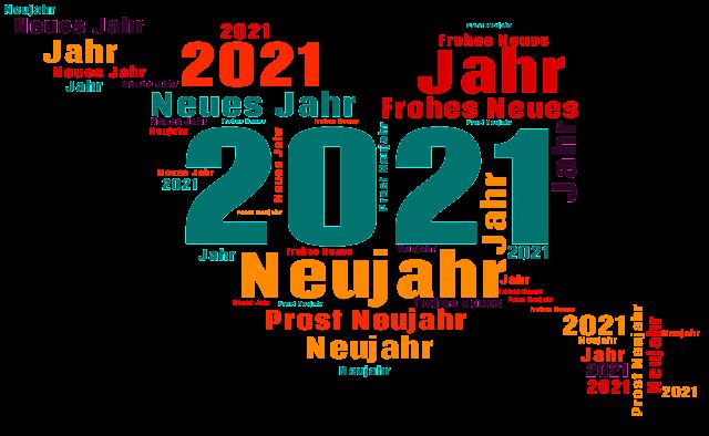 Silvester 2021 Gruß