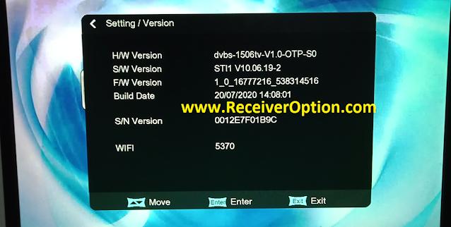 ORYX M5 1506TV 512 4M NEW SOFTWARE WITH ZARKACAM & ECAST OPTION