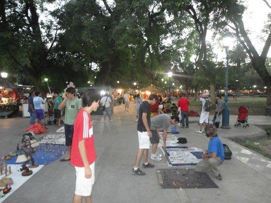 Feira Paseo de Las Artes em Mendoza
