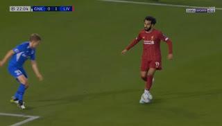 ملخص لمسات محمد صلاح في مباراة ليفربول وجينك تعليق عصام الشوالي