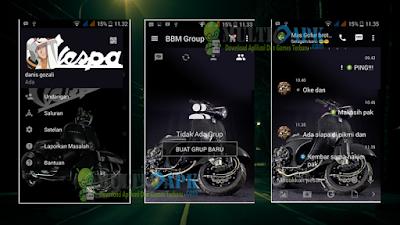 BBM Mod Vespa v2.13.0.26 APK