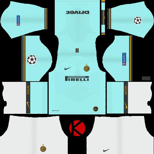 Inter Milan 2019 2020 Kit Dream League Soccer Kits Kuchalana