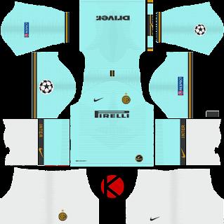 Inter Milan 2019/2020 Kit - Dream League Soccer Kits