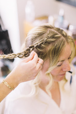 bridal hair braid