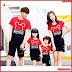 AKC038K115 Kaos Couple 2 Anak 038K115 Keluarga Anak BMGShop