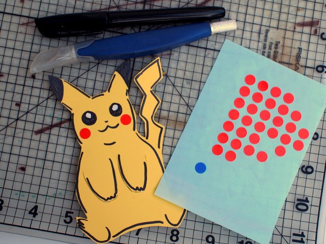 A Pikachu bookmark. | Pokemon bookmark, Corner bookmarks, Lovely ... | 480x640