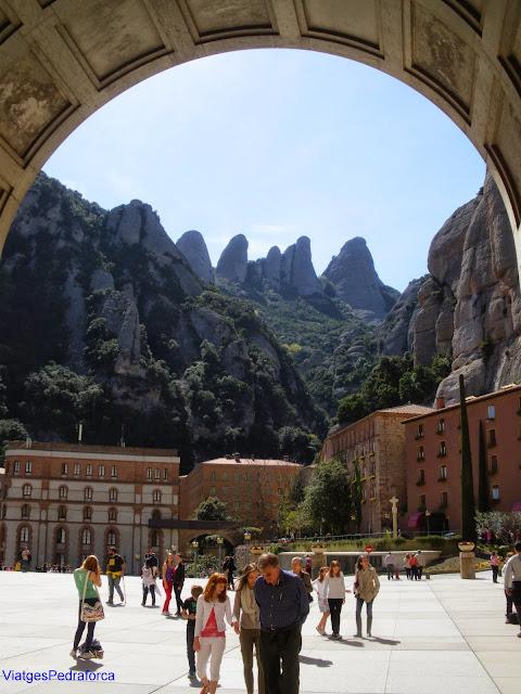 Monestir de Montserrat, excursions des d'un dia des de Barcelona,
