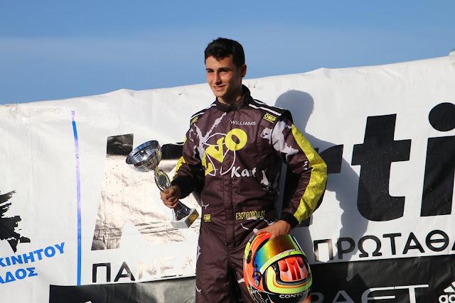 Ο Φώτης Σωτηρόπουλος στο Πανευρωπαϊκό Πρωτάθλημα της KZ2