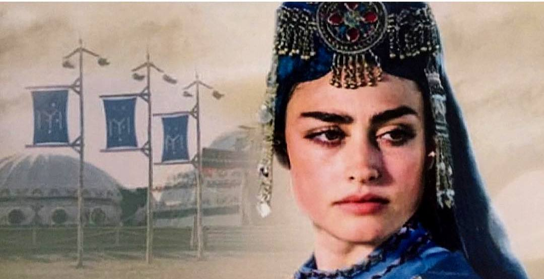 Beautiful Turkish Drama Ertugrul Actress Esra Bilgic-Halima Khatun DP